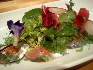 DAL-MATTO/ 鯖のカルパッチョ風サラダ