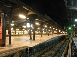 門司港駅 ホーム