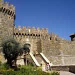 Castello di Amorosaの外観