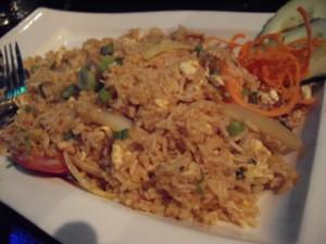 大好物のShrimp Paste Fried Rice